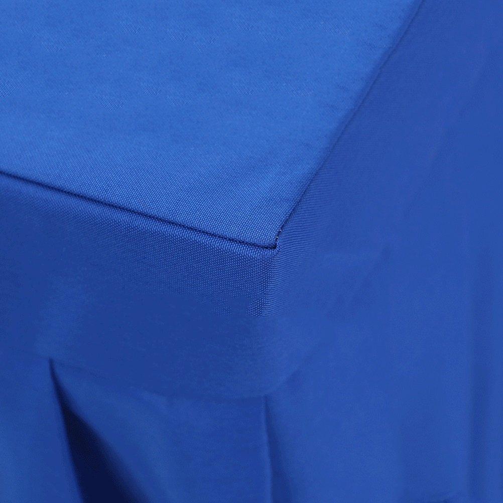 Colore : Purple, Dimensioni : 40x120x75cm Hotel Meeting Room Poliestere Tovaglia Gonna da Tavolo attivit/à espositive Copri Tavolo Rettangolare in Tessuto tovaglia vbimlxft