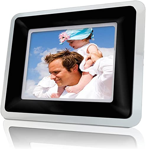 Coby DP-559 5.6-Inch Digital Photo Frame with MP3 Player