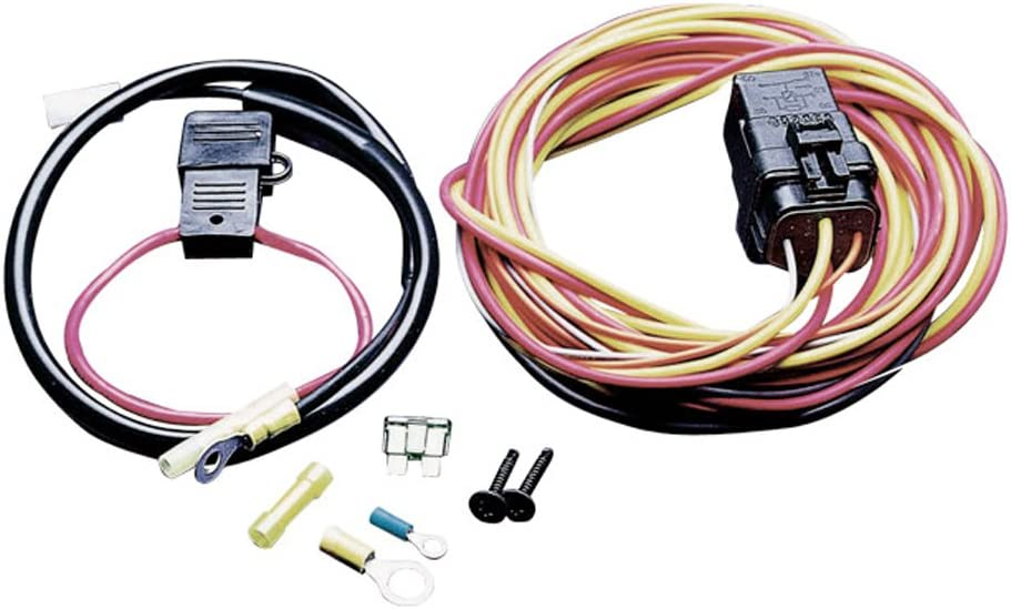 Amazon.com: Spal Fan Harness With Relay (40 Amp): Automotive   Spal Wiring Diagram      Amazon