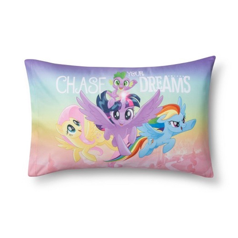 My Little Pony the Movie Pillowcase Reversible Standard Size