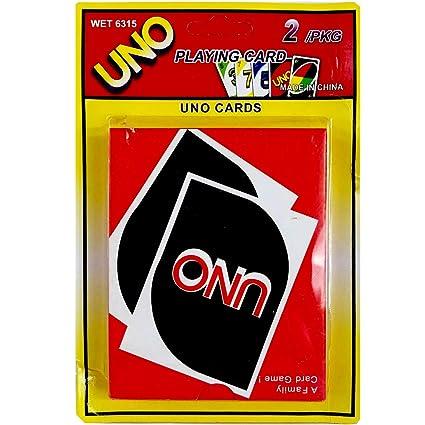 Amazon.com: Uno – Tarjetas de juego, 72 unidades, ideal para ...