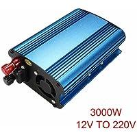 Dastrues Inversor de energía Solar para automóvil 3000W / 4000W DC 12 / 24V para convertidor de Onda sinusoidal modificada AC 220V
