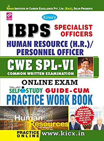 ibps specialist officer so spl 6 human resource hr personnel exam rh amazon in Personnel Specialist Duty Statement Navy Personnel Specialist