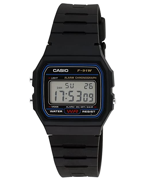 2e438013d64d Buy Casio Vintage Series Digital Black Dial Men s Watch - F-91W-1DG (D002)  Online at Low Prices in India - Amazon.in