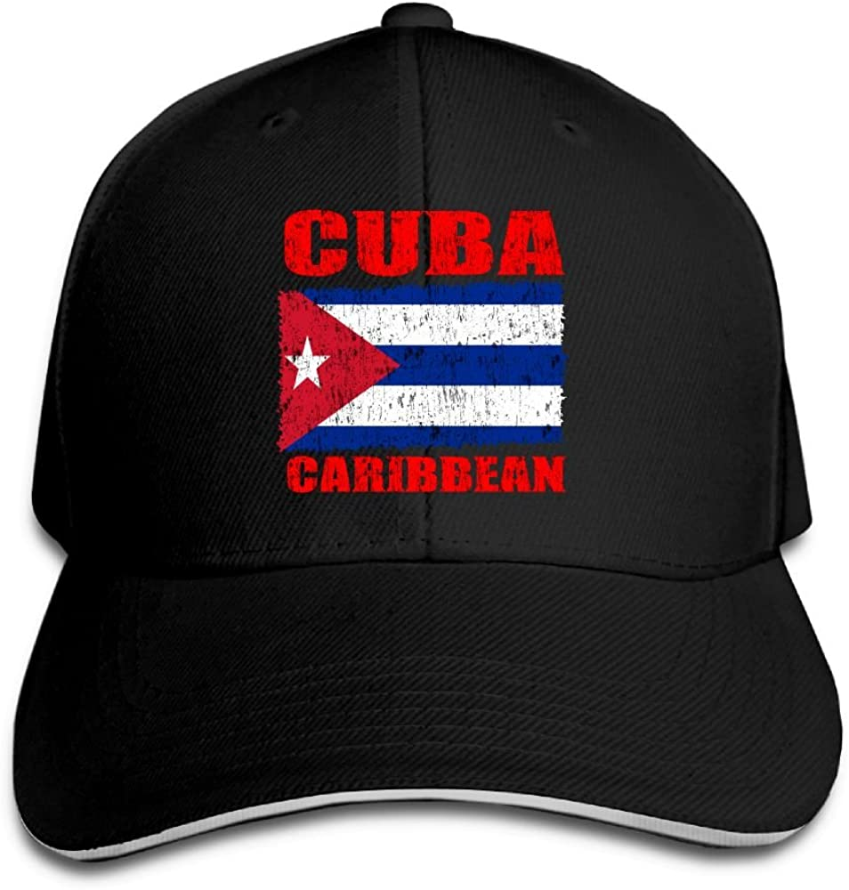 I Love Cuba Funny Adjustable Trucker Hat Cap