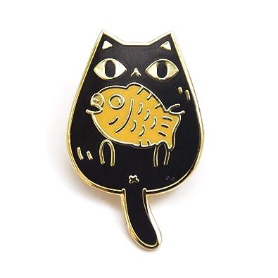 Amazon com: Noristudio Taiyaki Cat Enamel Pins for Cat