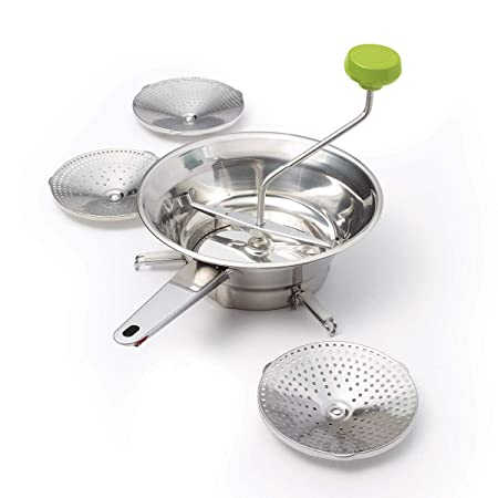 Food and Vegetable Mill Stainless Steel Soup Puree Baby Food