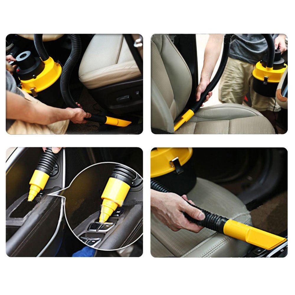 Amazon.com: 12V Auto Car Wash Dirt Dust Vacuum Cleaner Portable Mini Aspiradora Handheld: Health & Personal Care