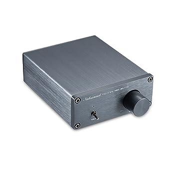 Chasis Mini Nobsound TPA3116 amplificador 2.0 audio estéreo de alta fidelidad AMP digital de canales de amplificador iony 50W + 50W: Amazon.es: Electrónica
