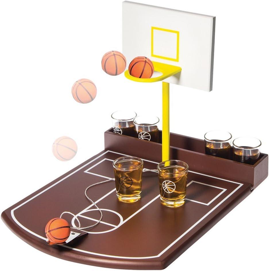 Juego de fiesta para beber – Disparos de baloncesto – 6 vasos de ...