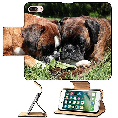 - MSD Premium Apple iPhone 7 Plus Flip Pu Leather Wallet Case Two Female Boxer IMAGE 21762163