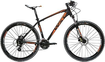 WST Quake 724 Bicicleta de Montaña, Adultos Unisex, Negro, L: Amazon.es: Deportes y aire libre