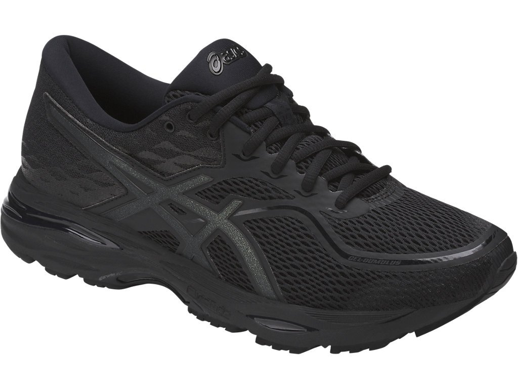 ASICS Mens Gel-Cumulus 19 Running Shoe, Black/Phantom, 6 Medium US