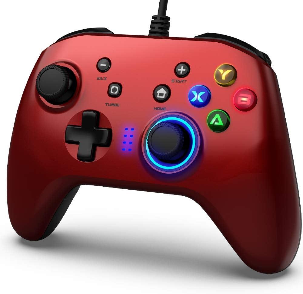 BIMONK Game Controller Wired, Gamepad with Dual: Amazon.de: Elektronik