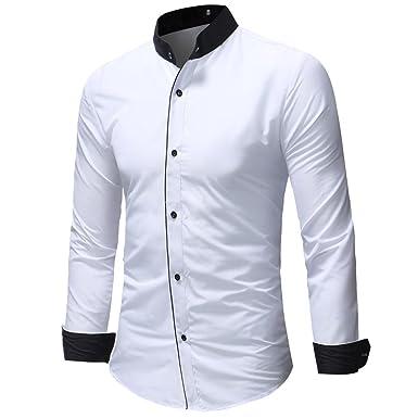 2018 Manches T à Chemise Décontracté Shirt Homme GreatestPAK rHfxaqr