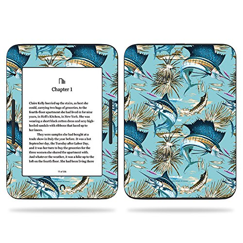 MightySkins Skin for Barnes & Noble Nook GlowLight 3 (2017) - Island Fish | Protective, Durable, and Unique Vinyl Decal wrap Cover | Easy to Apply, Remove, and Change Styles | Made in The USA