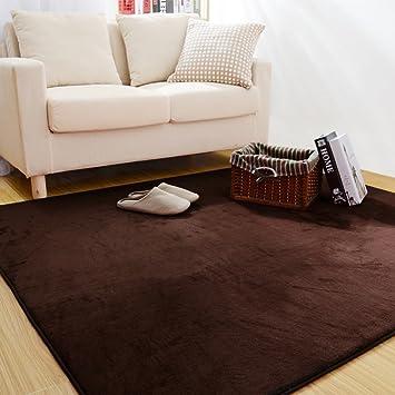 Modernes, Minimalistisches Coral Fleece Teppich Schlafzimmer Bett  Wohnzimmer Sofa Couchtisch Teppich Verblasst Haarausfall Nicht Stimulieren