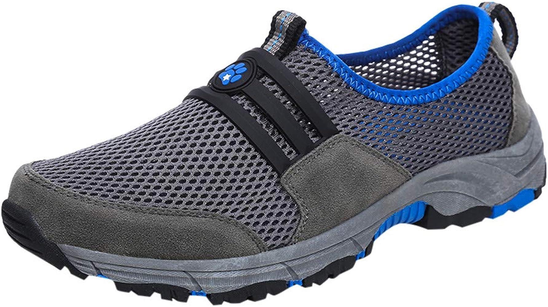 LuckyGirls Zapatos de Deporte, Zapatillas Deporte Hombre Zapatos para Correr Athletic Cordones Zapatillas de Deporte Respirable para Correr Deportes Zapatos Running Hombre 39-45: Amazon.es: Ropa y accesorios