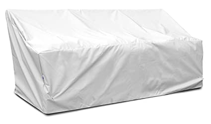 KoverRoos Weathermax 16450 Deep 3-Seat Glider/Lounge Cover, 89-Inch Width by 36-Inch Diameter by 33-Inch Height, White