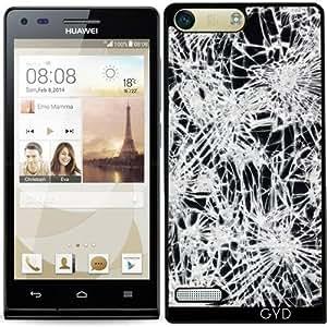 Funda para Huawei AscendP7 Mini - Vidrio Quebrado by wamdesign