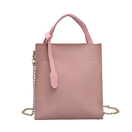 47c1f7a4bded Amazon.com: DZTZ Women Chain Versatile Messenger Bag Shoulder Bag ...