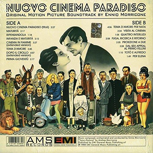 MORRICONE, ENNIO - Nuovo Cinema Paradiso (Original Motion Picture  Soundtrack) - Amazon.com Music