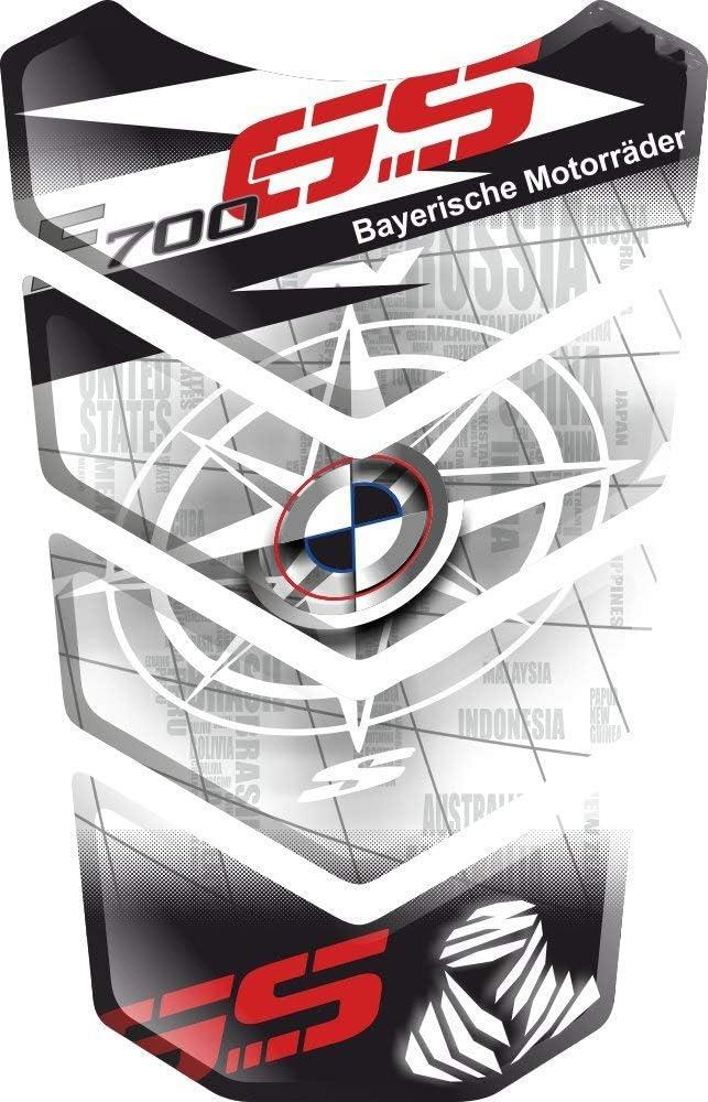 Paraserbatoio Adesivo Tankpad Tankschutz Protection De Resevoir Resinato Effetto 3d Compatibile Con Bm W F700gs F700 F 700 Gs F 700 Gs F 700 Bmwf700 Bmwf700gs V6 Auto