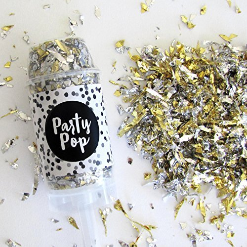 Shimmer Party Pop - Confetti Poppers - Push Pop