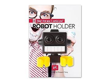 """Cepillos de Dientes y accesorio de soporte """"Robot con ventosa"""