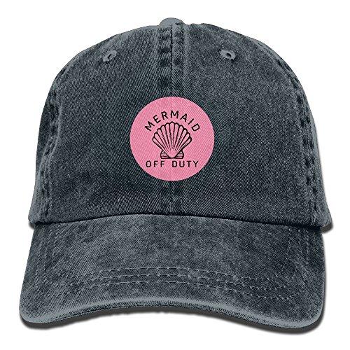 Custom Adjustable Off Newest And For Women Navy Hats Mermaid Denim Caps Baseball Men Cowboy Duty qFZwZYE