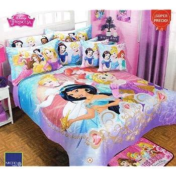 Amazon Com Disney Princess Magic Comforter Bedspread