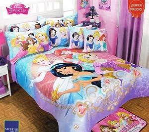 Amazon.com: Disney Princess Magic Comforter Bedspread ...