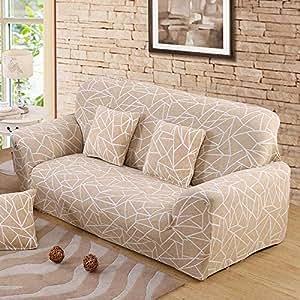 Amazon.com: USTZFSFCV - Funda de sofá elástica para sala de ...