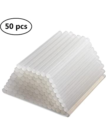 50f70fe7cce7d7 MultiWare 50 Pcs Hot Melt Glue Sticks 100 x 11mm
