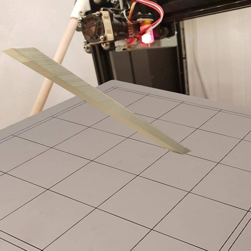 PEI Adesivo Magnetico Tangxi Set di Accessori per Stampante 3D Letto Riscaldato per Stampante 3D CR-10//10 Sec Piattaforma per Letto Caldo Piastra in Acciaio 300 x 300 mm
