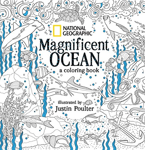 Pdf History National Geographic Magnificent Ocean: A Coloring Book