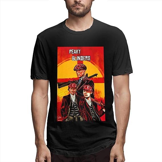 Scottdstalter Hombres Camisetas De Moda De Manga Corta Peaky ...