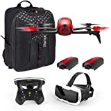 Parrot Bebop 2 FPV Fly More Pack - three batteries, FPV goggles, controller and backpack