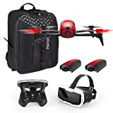Amazon Price History for:Parrot Bebop 2 FPV Fly More Pack - three batteries, FPV goggles, controller and backpack