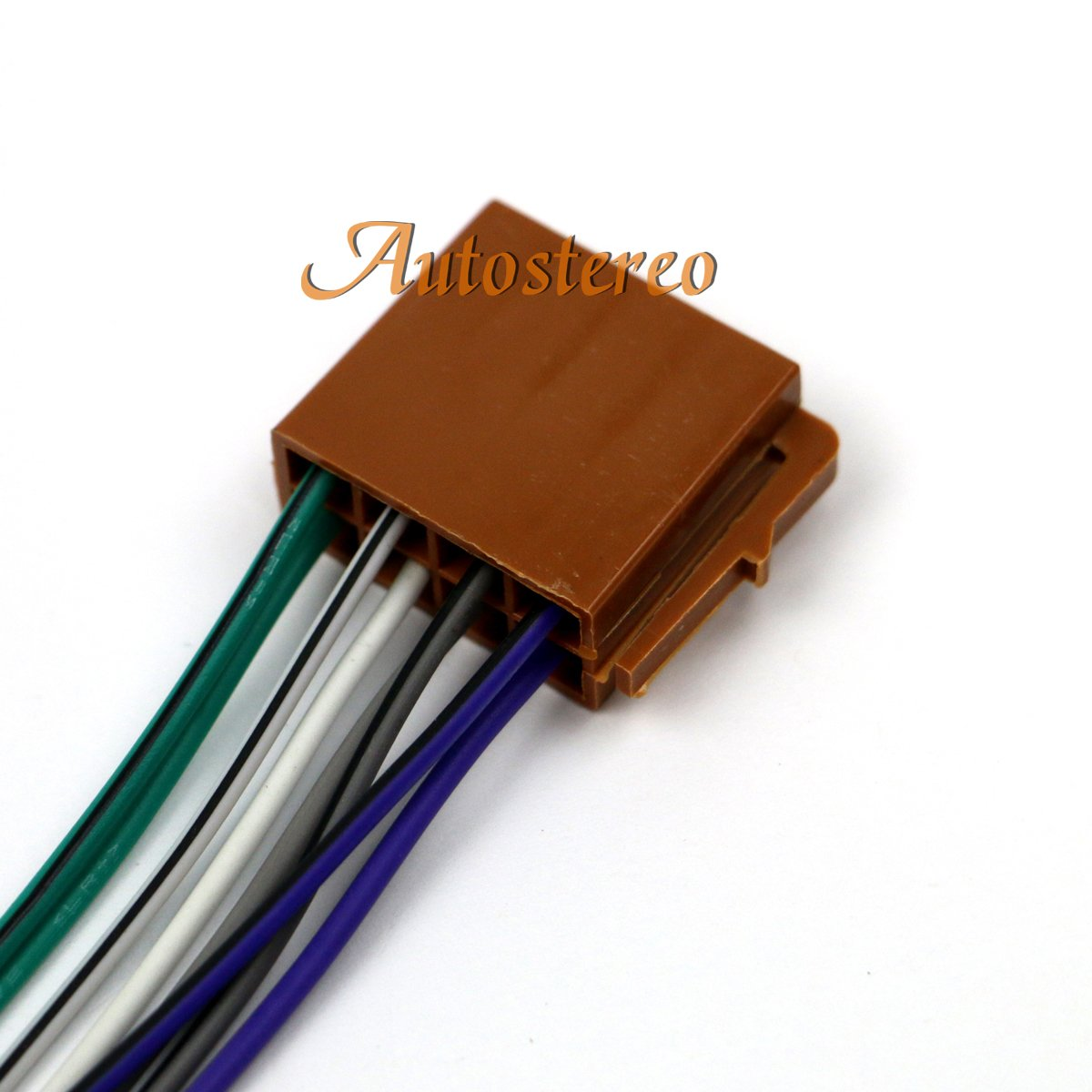 ZWNAV ISO Car Audio Installation Cable Universal ISO standard HARNESS Adapter Power And Loudspeaker Male Wire Harness for Car Stereo CD Player Plug