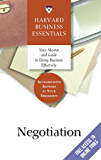 Negotiation (Harvard Business Essentials)