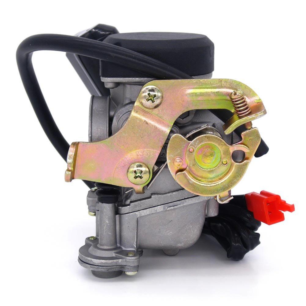 Amazon.com: 49cc Scooter Carburetor GY6 Four Stroke with Jet Upgrades:  Automotive