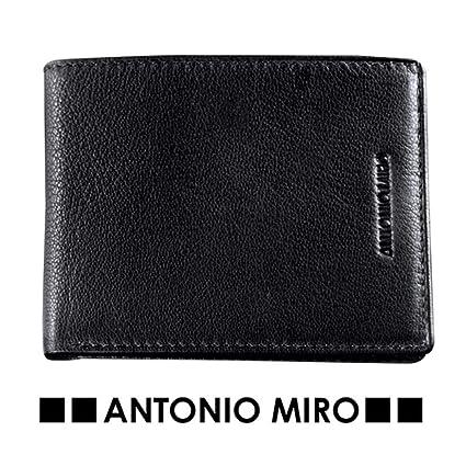 cartera Tarjetero para hombre de piel Firma Antonio MIRO ...
