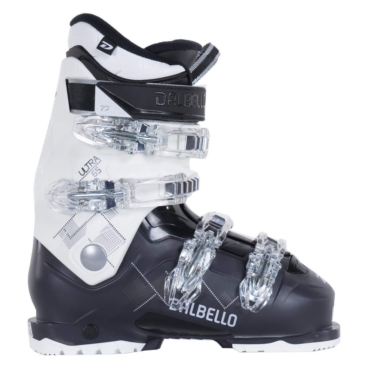 Dalbello Ultra 65 レディース スキーブーツ ホワイト/ブラック Trans 265