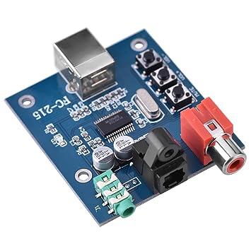 Amazon.com: Lazmin PCM2704 - Tarjeta de sonido portátil (5 V ...