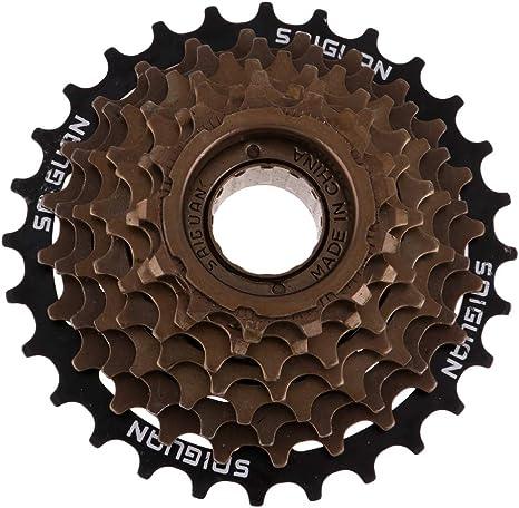 MTB Bicicleta de Montaña 8 Velocidades de Rueda Libre 13-28t ...