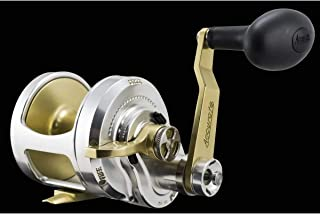 product image for Accurate Boss Fury FX2-600 Reel - Right-Hand - Silver/Gold