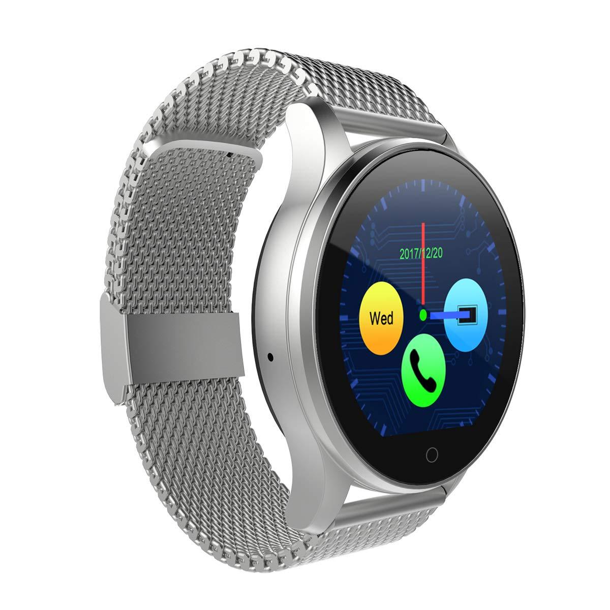 DIGGRO K88H Montre Intelligente podomètre Moniteur de fréquence Cardiaque Appel/Rappel de Sommeil Moniteur de Veille pour Android iOS: Amazon.fr: High-tech