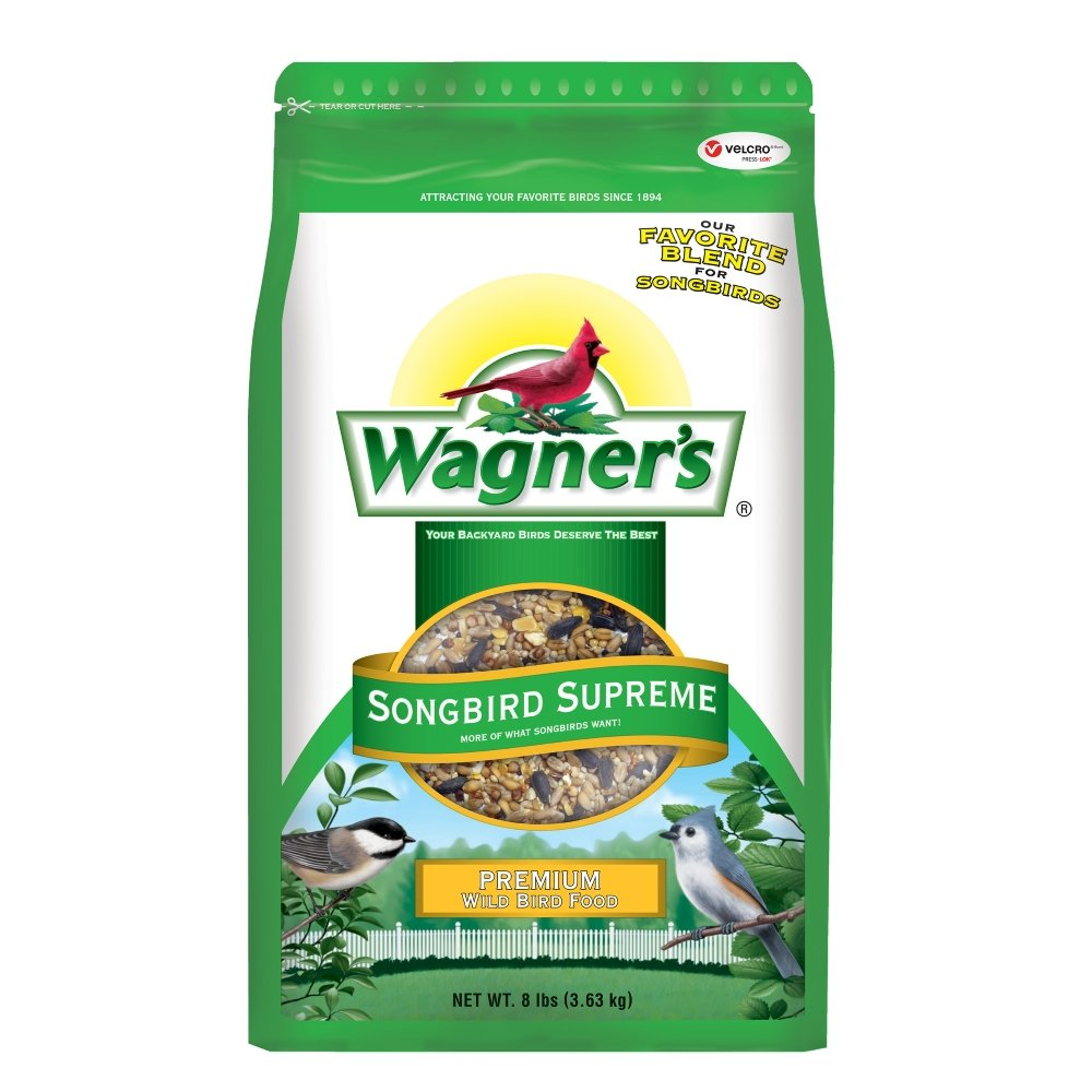 Wagner's 62042 Songbird Supreme Blend, 8-Pound Bag by Wagner's