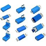 Kingtop USB 3.0 Adattatore Kit -12 Adattatori Accoppiatore